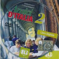 Amici d' Italia 2 - Libro digitale per l'insegnante (italština) - VYPRODÁNO