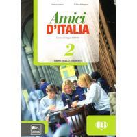 Amici di Italia 2 - Libro dello studente (italština 2.st. ZŠ a SŠ) učebnice