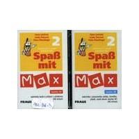 Spass mit Max 2 - kazeta  ( němčina pro 2.stupeň ZŠ )   DOPRODEJ