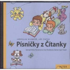 Písničky z čítanky Jiřího Žáčka - CD