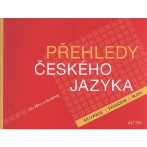 Přehledy českého jazyka pro žáky a studenty /mluvnice,pravopis,sloh/