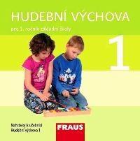 Hudební výchova 1.ročník ZŠ - CD (2ks) zvukové nahrávky k pracovní učebnici