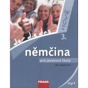 Němčina pro jazykové školy nově - 3.díl učebnice