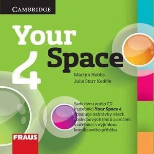Your Space 4 - CD (2ks) angličtina pro ZŠ a VG
