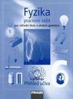 Fyzika pro 6. ročník ZŠ a VG - pracovní sešit