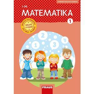 Matematika pro 1.ročník ZŠ - 1.díl pracovní učebnice (NOVÁ GENERACE)