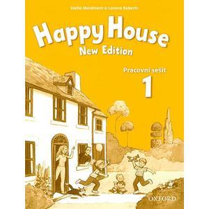 Happy House 1 (New edition) - pracovní sešit (česká verze CD ke stažení OXFORD)