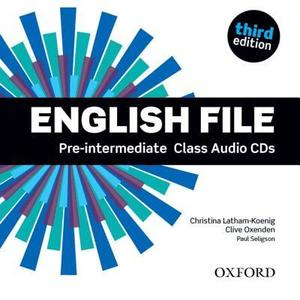 English File Pre-Intermediate (3ed) - Class Audio CDs (4ks)