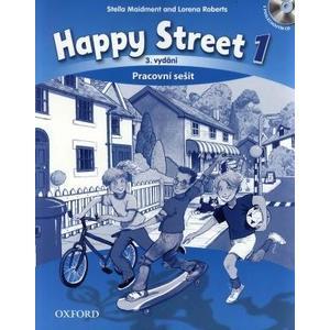 Happy Street 1 (3.vydání) - pracovní sešit + CD (česká verze)