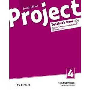 Project 4 Fourth edition - Teacher's Book  with online practice