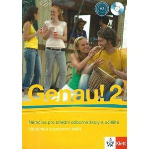 Genau! 2 (A2) - učebnice s pracovním sešitem + 2CD