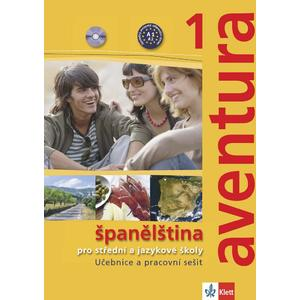 Aventura 1 (A1-A2) - učebnice s pracovním sešitem + 2CD (španělština SŠ a JŠ)
