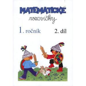 Matematické rozcvičky 1.ročník - 2.díl (sčítání a odčítání do 10)  A5 str.32