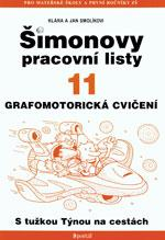 Šimonovy pracovní listy 11 - (grafomotorická cvičení)