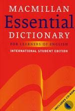 Macmillan Essential dictionary for learnes of English International - Student's