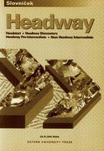 Headway - slovníček (Headstart, Elementary, Pre-Intermediate, Intermediate)