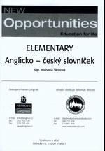 New Opportunities Elementary (anglicko-český slovníček)