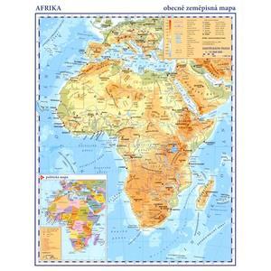 Afrika - příruční - obecně zeměpisná