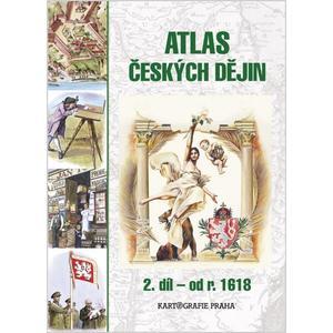 Atlas českých dějin - 2.díl pro SŠ a VG od r. 1618