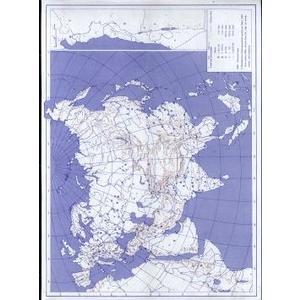 Asie - obrysová mapa slepá  / DOPRODEJ
