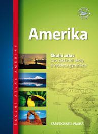 Amerika - školní atlas pro 2.stupeň ZŠ a VG