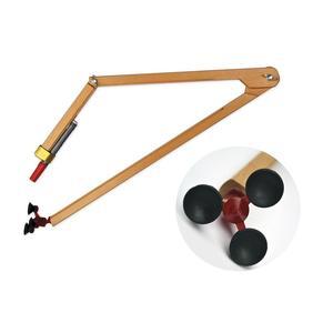Kružidlo dřevěné 50cm (přísavka) na křídu
