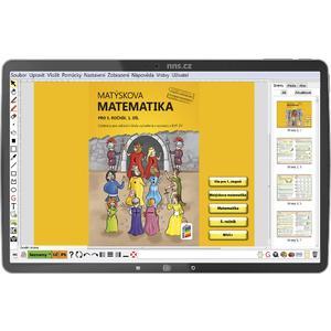 Matýskova matematika 5.ročník (1.a 2.díl a Geometrie) - MIUČ+  žákovská licence na 1 školní rok