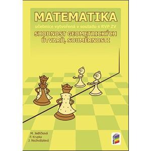 Matematika pro 7.ročník ZŠ - (Shodnost geometr. útvarů, souměrnosti) učebnice