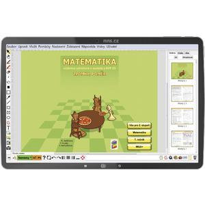 Matematika pro 7.ročník ZŠ - Zlomky a poměr - (MIUČ+ školní multilicence na 1 školní rok)