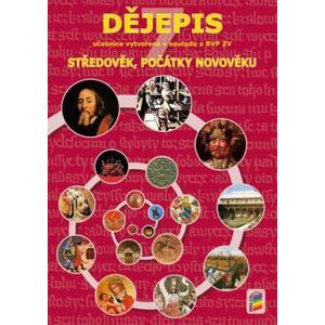 Dějepis pro 7.ročník ZŠ - (Středověk, počátky novověku) učebnice