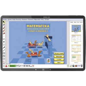Matematika pro 8.ročník ZŠ - Výrazy a rovnice 2 - (MIUČ+ časově neomezená školní multilicence)