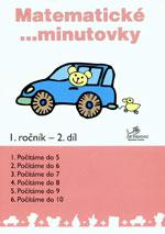 Matematické minutovky 1.ročník - 2.díl  MODRÁ ŘADA