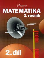Matematika pro 3. ročník ZŠ - 2.díl  původní řada