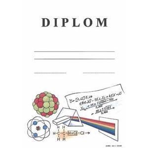 Diplom: Matematicko-fyzikální olympiáda  / formát A4, karton silný /