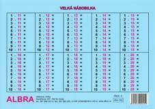 XXX Velká násobilka   TABULKA A5 / VYPRODÁNO