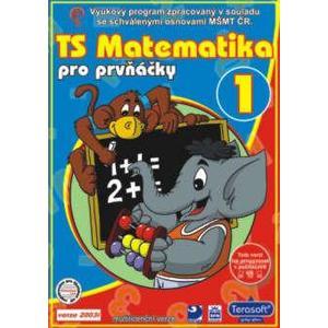 Matematika pro prvňáčky 1 - CD jednouživatelská verze   TERASOFT