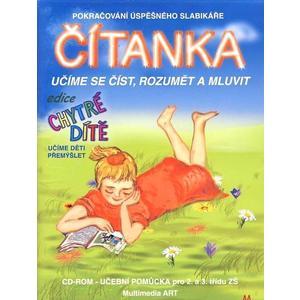 "Chytré dítě - Čítanka (výukový CD-ROM)  ""nakl. PACHNER"""