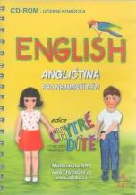 """Chytré dítě - English, anglična pro nejmenší  (výukový CD-ROM) """"nakl. PACHNER"""""""