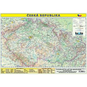 Česká republika - příruční mapa 1:1 200 000 (tabulka 1xA3)