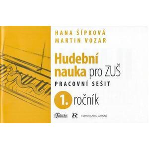 Hudební nauka pro ZUŠ 1.ročník - pracovní sešit   (RTNL006)