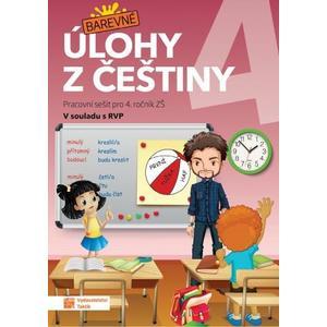 Barevné úlohy z češtiny 4.ročník ZŠ - pracovní sešit