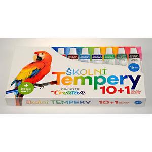 Tempery 10 barev