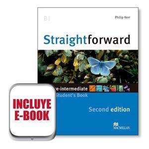 Sraightforward 2nd Edition Pre-Intermediate - Student's Book with eBook