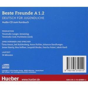 Beste Freunde 2 (A1/2) - audio CD zum Kursbuch (německá verze)