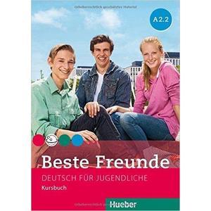 Beste Freunde A2/2 - Kursbuch  (německá verze)