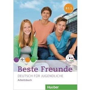 Beste Freunde B1/1 - Arbeitsbuch mit audio CD-ROM  (německá verze)