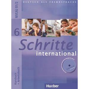 Schritte international 6 - Kursbuch + Arbeitsbuch mit Audio-CD zum Arbeitsbuch