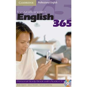 English365 2 Personal Study Book with Audio CD