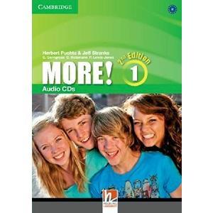 More! 1 (2Ed.) - Audio CDs (3ks)