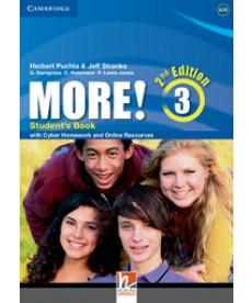 More! 3 (2Ed.) - Student's Book with Cyber Homework and Online Resources